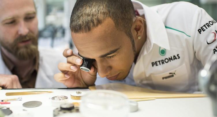 Swatch: victoire judiciaire contre le pilote de F1 Lewis Hamilton