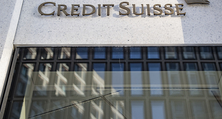 Credit Suisse: correctif de valeur de 450 millions de dollars