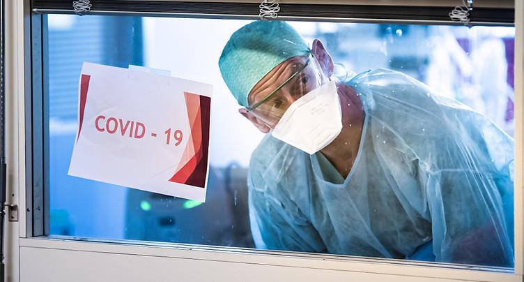 La Suisse compte 4'241 nouveaux cas de coronavirus en 24 heures