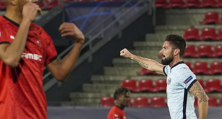 Chelsea et Séville, premiers qualifiés