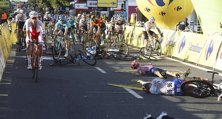 Grièvement bessé en août, Jakobsen remonte sur un vélo