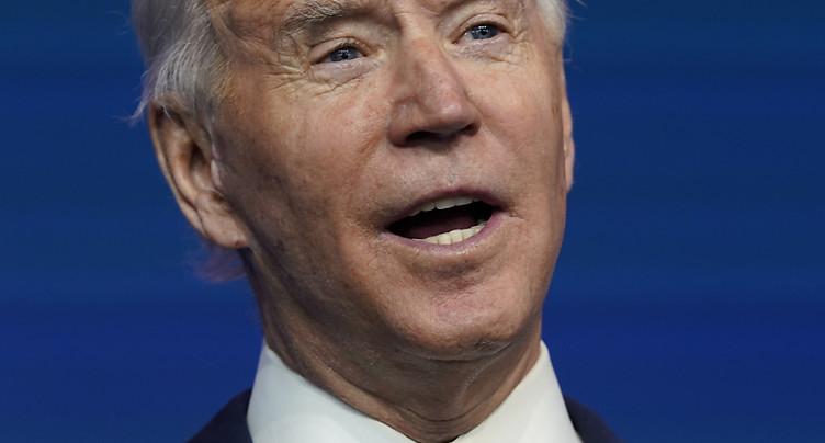 Biden sonne le « retour » d'une Amérique ouverte sur le monde