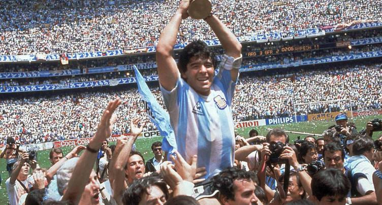 Diego Maradona est décédé d'un arrêt cardiaque