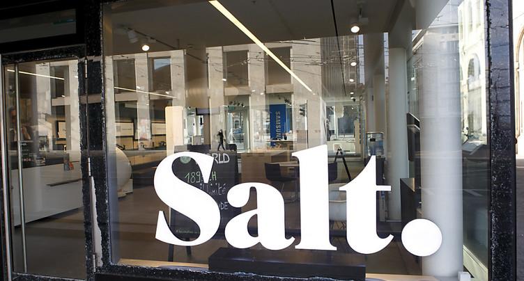 Revenus et rentabilité en repli pour Salt après neuf mois