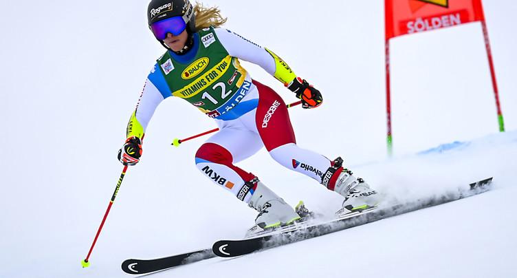 Lara Gut-Behrami la plus rapide en qualifications