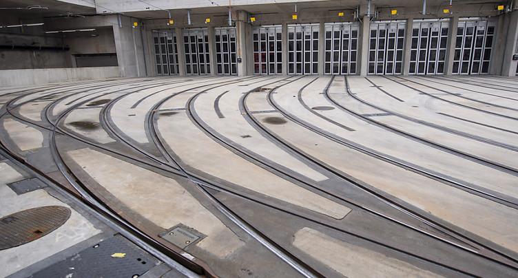 Un nouveau centre de maintenance et dépôt pour l'essor des TPG