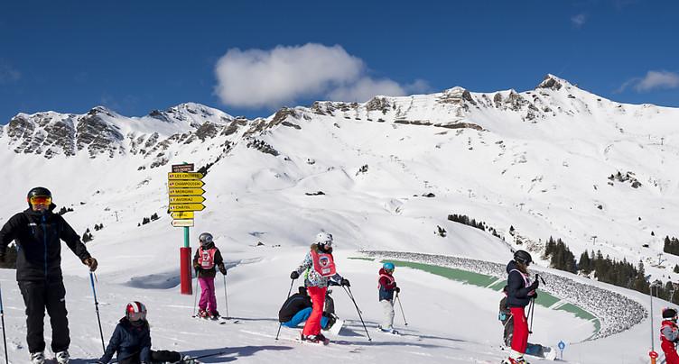 Les défis d'un domaine skiable binational à l'heure du coronavirus