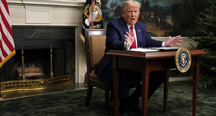 Trump dit qu'il quittera la Maison Blanche