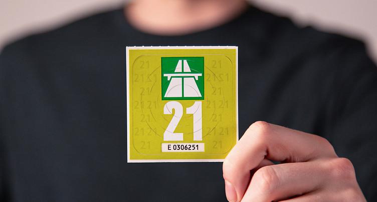 La vignette autoroutière 2021 est verte