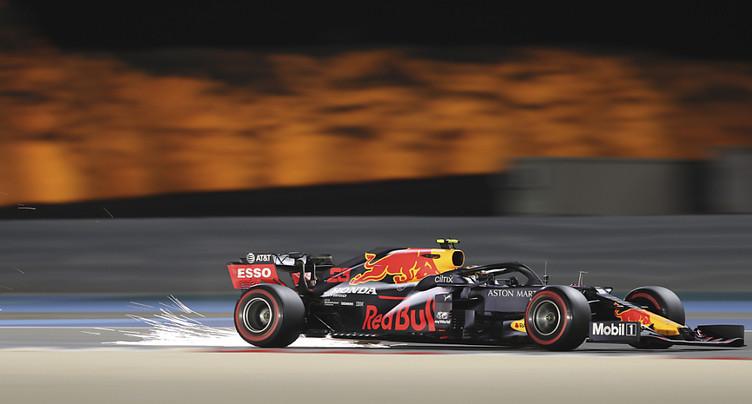 Hamilton devant lors des deux séances d'essais