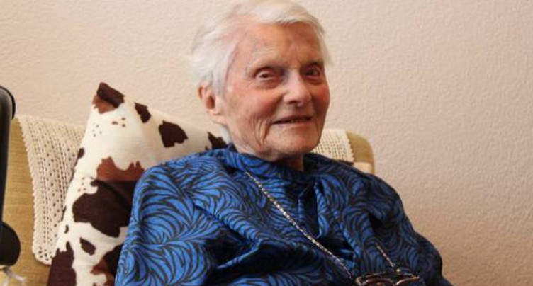 La femme la plus âgée de Suisse est décédée à l'âge de 112 ans