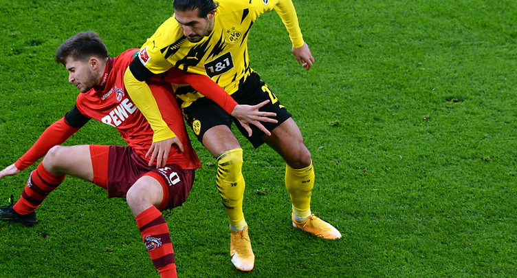 Dortmund battu à domicile par Cologne