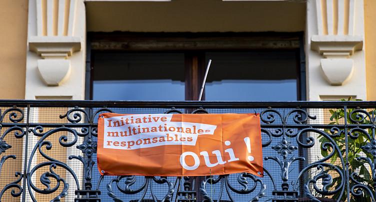 Sort de l'initiative « sur les multinationales » pas encore joué