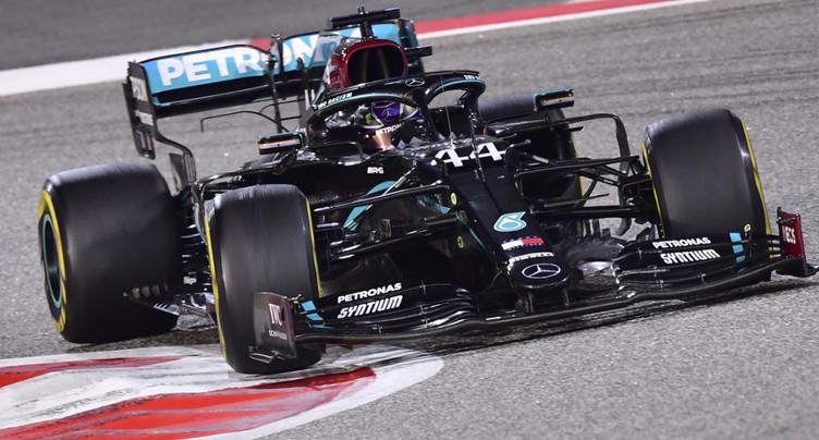 Hamilton remporte une course marquée par l'accident de Grosjean