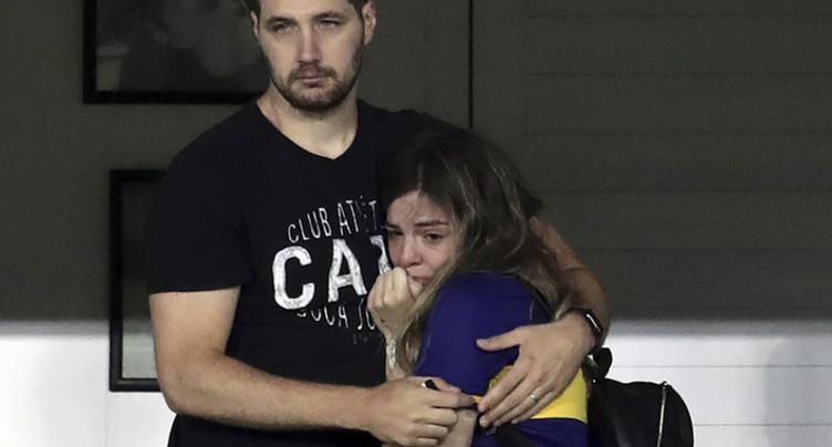 Hommage de Boca Juniors à la Bombonera pour Maradona