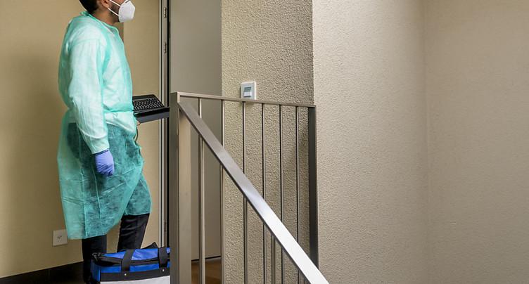 La Suisse compte 8782 nouveaux cas de coronavirus en 72 heures