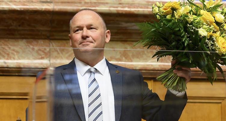Andreas Aebi accède au perchoir du Conseil national
