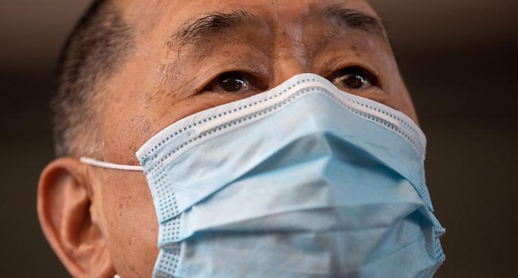 Hong Kong: le magnat pro-démocratie Jimmy Lai poursuivi pour fraude