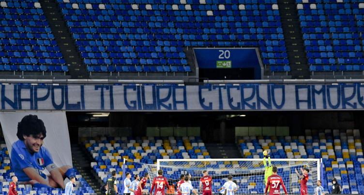 Le stade de Naples rebaptisé du nom de Diego Maradona