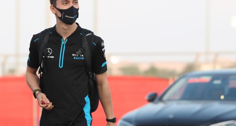 Russell devant pour ses premiers essais avec Mercedes