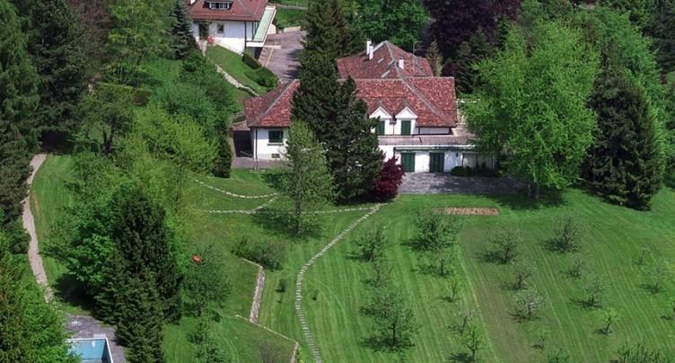 L'ancienne villa de l'ex-dictateur africain Mobutu à Savigny (VD) a été revendue