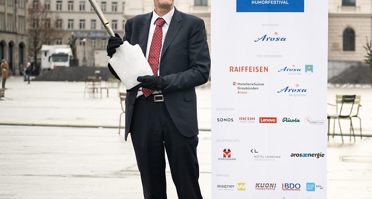 Daniel Koch a été distingué au festival d'humour d'Arosa (GR)