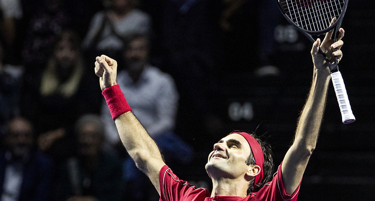 Roger Federer toujours aussi aimé par le public