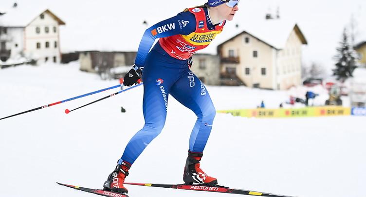 Fähndrich chute en finale au Val Müstair