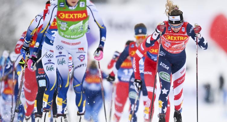 Fähndrich recule au 8e rang du Tour de Ski