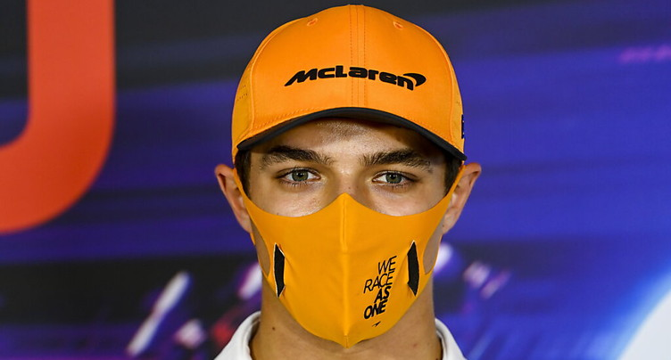 Le pilote McLaren Lando Norris positif au Covid-19