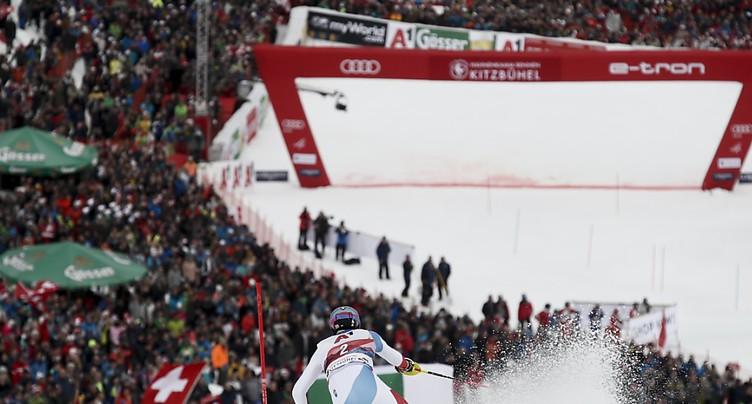 Kitzbühel reprend les courses annulées à Wengen