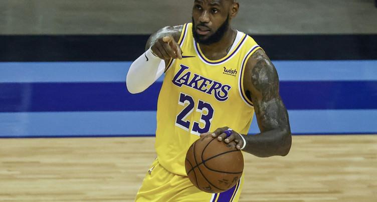 Une série unique pour les Lakers