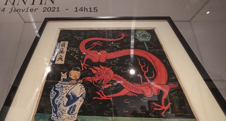 Record d'enchères pour un dessin de Tintin: 3,175 millions d'euros