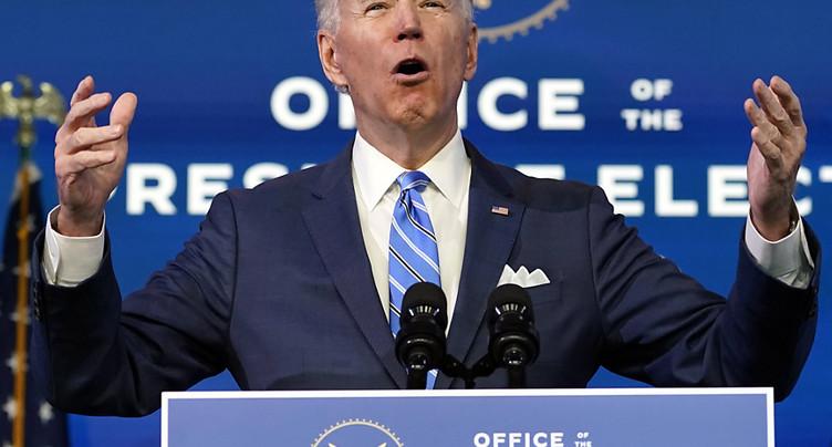 Joe Biden dévoile un plan de relance de 1900 milliards de dollars