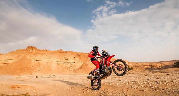 L'Argentin Kevin Benavides sacré à moto