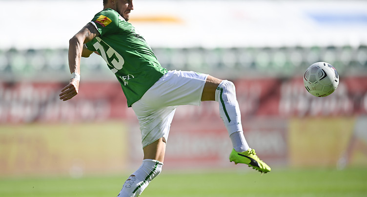Vincent Rüfli prêté à Stade Lausanne-Ouchy