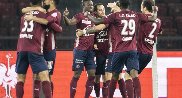 Le Servette FC en quarantaine pour la deuxième fois