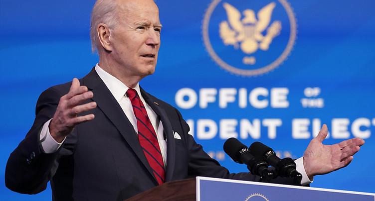 Joe Biden dévoile son plan de vaccination des Américains