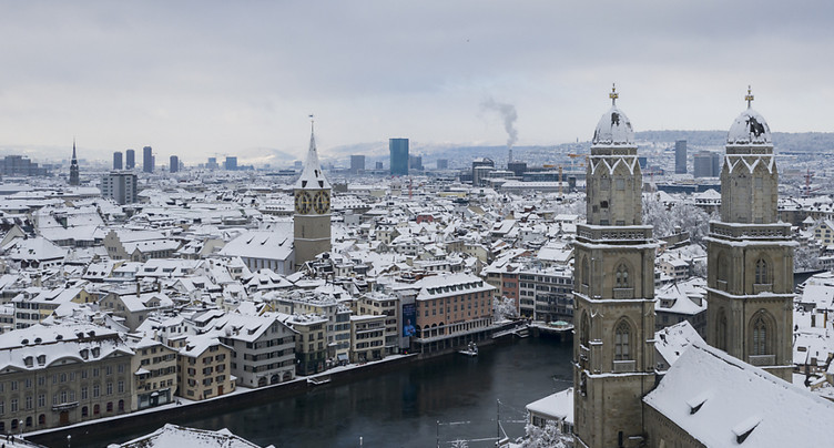 Nuit la plus froide de l'hiver dans certaines régions de Suisse
