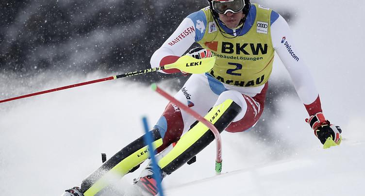 Zanhäusern 6e et meilleur Suisse, Feller victorieux