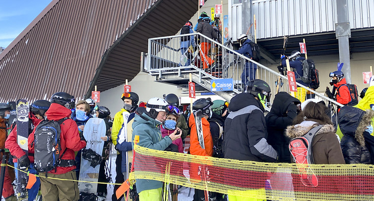 Un mort dans une avalanche à Casanna, près de Klosters GR