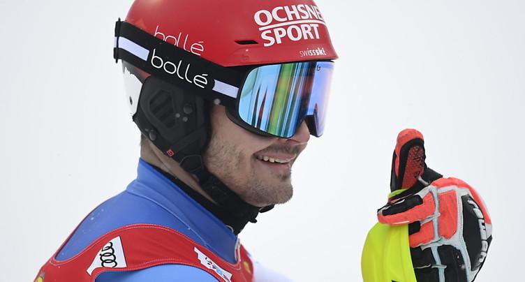 2e slalom de Flachau: Meillard 4e, à 0''19 du podium