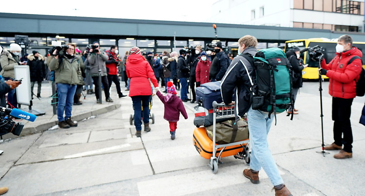L'opposant Alexeï Navalny en route vers la Russie