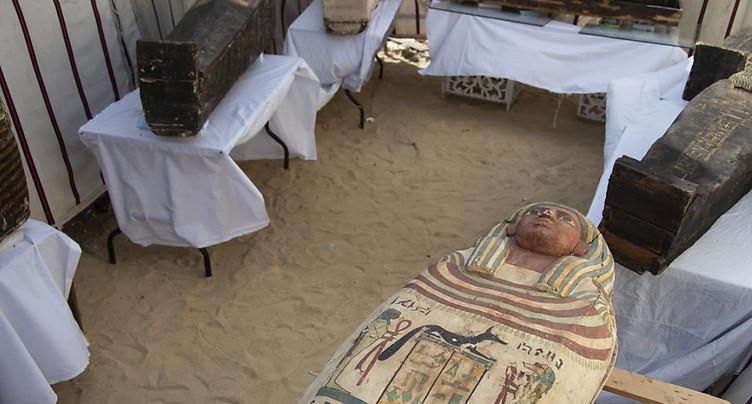 L'Egypte dévoile des « trésors » trois fois millénaires
