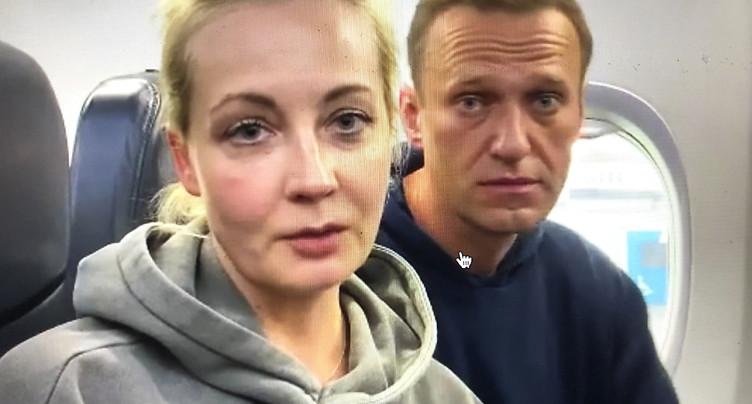 L'avion avec Alexeï Navalny à bord dévié vers un autre aéroport