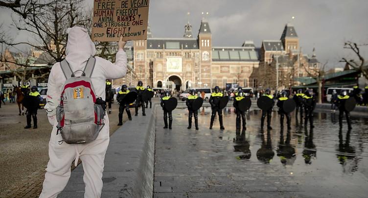 Une centaine d'arrestations lors d'une manifestation