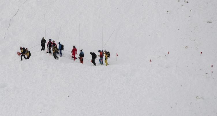 Une avalanche fait un mort aux Rochers-de-Naye