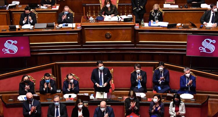Le gouvernement Conte obtient la confiance du Sénat