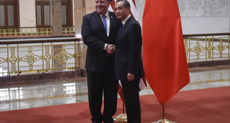 Pékin annonce des sanctions contre Mike Pompeo