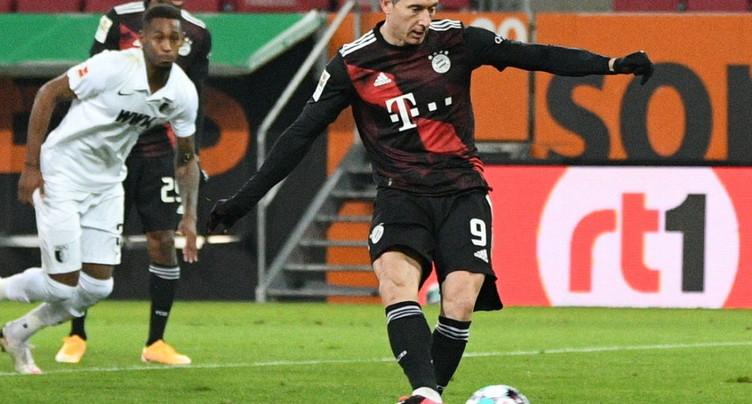 Le Bayern a eu chaud mais garde le cap